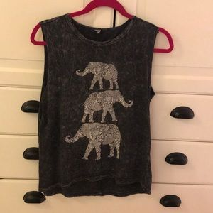 Tops - 5 for $25 Elephant muscle tee